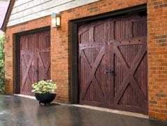 Wood Garage Doors New Westminster